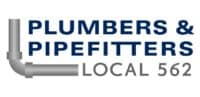Plumbers & Pipefitters Local 562 Logo