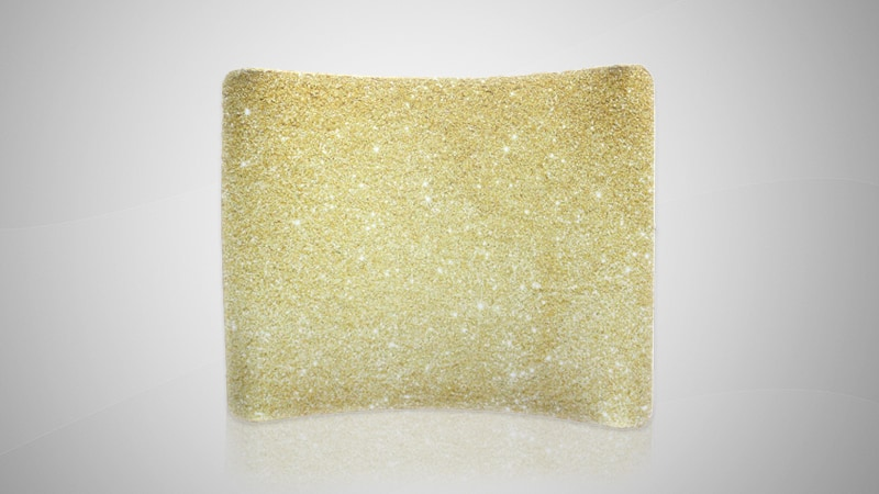 Megalux Photo Booth Rental - Glitz Booth Backdrop